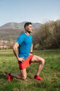 Séance de coaching extérieur, exercice fente, Coach sportif Brunet Yoann