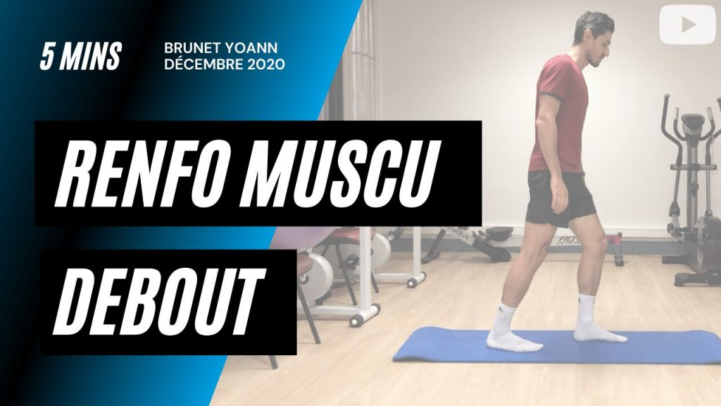 Renforcement musculaire en sautant en 5'