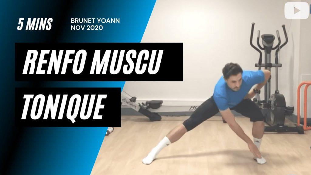 Renforcement musculaire tonique 5'